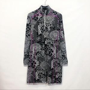 Title Nine Black Gray Merino Wool Dress Large